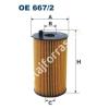 Filtron OE667/2 Filron olajszűrő
