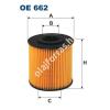 Filtron OE662 Filron olajszűrő