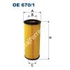 Filtron OE670/1 Filron olajszűrő