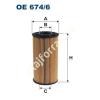 Filtron OE674/6 Filron olajszűrő