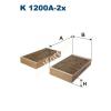 Filtron K1200A-2x Filtron pollenszűrő