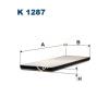 Filtron K1287 Filtron pollenszűrő