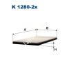 Filtron K1280-2x Filtron pollenszűrő