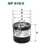 Filtron OP616/3 Filron olajszűrő