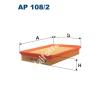 Filtron AP108/2 Filtron levegőszűrő