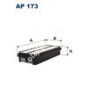Filtron AP173 Filtron levegőszűrő