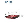 Filtron AP169 Filtron levegőszűrő