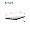 Filtron K1123 Filtron pollenszűrő