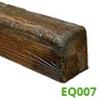 DecoWood gerenda, rusztikus (EQ007) mahagóni (6x9 cm)