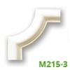 Poliuretán keretező (M215-3) sarokelem
