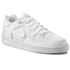 Nike Cipők NIKE - Son Of Force 616775 101 White/Black