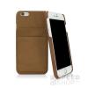 Caseual Leather Apple iPhone 6/6s Vintage Sand bőr hátlap tok, homok