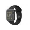 Apple Apple Watch Sport 42mm Space Grey Aluminium Case with Black okosóra