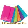 """Leitz Genotherm, lefűzhető, A4, 200 mikron, LEITZ """"Wow"""", vegyes színek"""