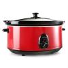 Klarstein Bristol 65, piros, lassú főzőedény, 300 W, 6,5 literes