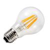 Rhino filament LED körte, 8w, E27 meleg-fehér