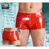 Lakk, zsebes boxer - piros (M)