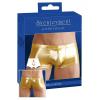 Selymes fényű boxeralsó - arany (S)