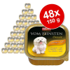 Animonda Vom Feinsten ínyenc csomag 48 x 150 g - Junior mix, 2 fajtával