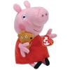 Ty. Plüss figura Beanie Babies Peppa Pig Lic 15 cm Baby