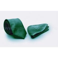 Zsorzsett szatén slim szett - Zöld