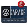 Volkswagen fémtábla