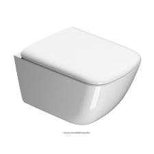 Sapho SAND WC ülőke, fehér/króm (MS9011) fürdőkellék