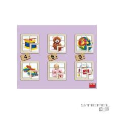 Akros Játékos fotópuzzle - 6 db puzzle, kirakós