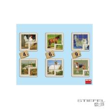 Akros Fotópuzzle készlet - 6 db - TÖBBFÉLE puzzle, kirakós