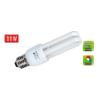 Somogyi Energiatakarékos izzó kompakt fénycső 2U E27 11W 230V 741lm
