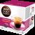 NESCAFÉ DOLCE GUSTO koffeinmentes eszpresszó kávékapszula, 16 db