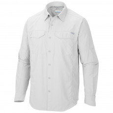 Columbia Silver Ridge Long Sleeve Shirt Ing D (1441581-o_100-White)