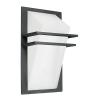 Kültéri fali lámpa E27 1X60W alumíniumöntvény-antracit/fehér-szatinált üveg IP44 Park EGLO