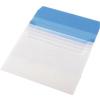 PANTA PLAST Irattartó tasak, A4, PP, öt zsebes, , kék