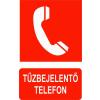 Tűzbejelentő telefon (TÁBLA)
