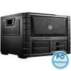 "CoolerMaster HAF XB EVO Black Black,2x5,25"",4x3,5"",4x2,5"",ATX,2xUSB3.0,Audio,Táp nélkül,442x330x423mm"