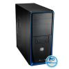 """CoolerMaster Elite 310 Black/Blue Black/Blue,4x5,25"""",1+belső 6x3,5"""",ATX,2xUSB2.0,Audio,Táp nélkül,191x437x468mm"""