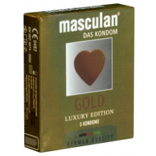 Masculan Gold Luxury Edition óvszer 3db óvszer