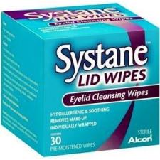 Alcon Systane Lid Wipes szemhéjszél törlőkendő 30db gyógyászati segédeszköz