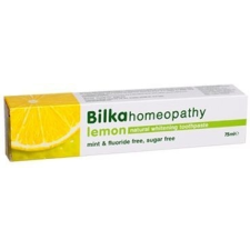 Bilka Homeopathy fehérítő fogkrém citrom 75ml fogkrém