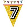 Hologramos zászlófüzér 7, 8, 9 éves 8 m-es  (7-es)