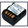 JVC GR-DF420 7.4V 1200mAh utángyártott Lithium-Ion kamera/fényképezőgép akku/akkumulátor