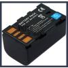 JVC GZ-HD300BEK 7.4V 2500mAh utángyártott Lithium-Ion kamera/fényképezőgép akku/akkumulátor