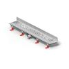 Mofém Linear sarok zuhanyfolyóka szett D Drops ráccsal, MLS-650 D