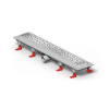Mofém Linear zuhanyfolyóka szett D Drops ráccsal, MLP-750 D