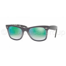 Ray-Ban WAYFARER RB2140 11994J TOP LIGHT GREY GRAD ON G MIRROR GRADIENT GREEN napszemüveg