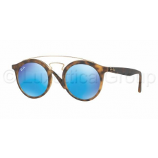 Ray-Ban RB4256 609255 MATTE HAVANA LIGHT GREEN MIRROR BLUE napszemüveg