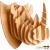 Eureka Gepetto's Workshop - Rinocéroszfej- 3D fapuzzle