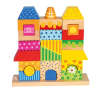Bino Fa házikóépítő játék barkácsolás, építés