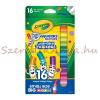 Crayola lemosható mini filctoll 16 db